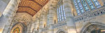 Ceiling of the Nave, Sterling Memorial Library at Yale University