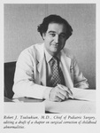 Dr. Robert J. Touloukian in 1983-84