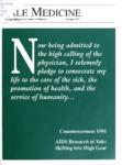Yale Medicine : Alumni Bulletin of the School of Medicine, Fall 1990- Summer 1992