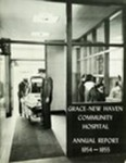 Grace-New Haven Community Hospital Annual Report 1954 - 1955