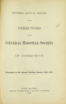 Fiftieth Annual Report of the Directors of the General Hospital Society of Connecticut by General Hospital Society of Connecticut