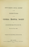 Fifty-Eighth Annual Report of the Directors of the General Hospital Society of Connecticut by General Hospital Society of Connecticut