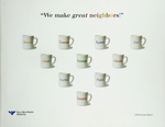 """We make great neighbors!""  2004 Annual Report  Yale-New Haven Hospital"