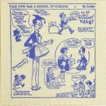 Yale University School of Nursing 1923-1948 Commemorative Napkin