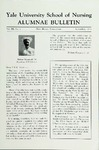 Yale University School of Nursing, Alumnae Bulletin, Vol III No. 1  November 1948