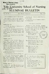 Yale University School of Nursing, Alumnae Bulletin, Vol II No. 3  May 1948