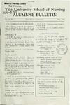 Yale University School of Nursing, Alumnae Bulletin, Vol II No. 3 May 1948 by Yale University School of Nursing