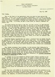 Yale University School of Nursing, Alumnae Association, Newsletter, July 25, 1958