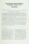Yale University School of Nursing Alumnae Association Newsletter, Summer 1968 by Yale University School of Nursing