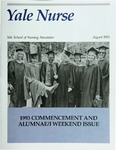 Yale Nurse: Yale School of Nursing Newsletter, August 1993