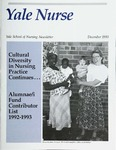 Yale Nurse: Yale School of Nursing Newsletter, December 1993