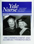 Yale Nurse: Yale School of Nursing Newsletter, September 1998 by Yale University School of Nursing