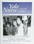 Yale Nurse: Yale School of Nursing Newsletter, December, 1998 by Yale University School of Nursing