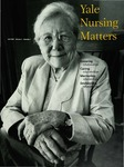 Yale Nursing Matters Fall 2000 Volume 2 Number 1 by Yale University School of Nursing