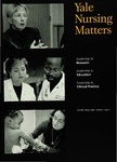 Yale Nursing Matters Fall 2001 / Winter 2002 Volume 3 Issue 1 by Yale University School of Nursing