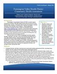 Farmington Valley Health District Community Health Assessment by Megan Carroll, Heather Ferguson, Monica Guo, Colette Matysiak, Debbie Humphries, and Jennifer Kertanis