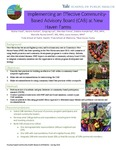 Implementing an Effective Community-Based Advisory Board (CAB) at New Haven Farms